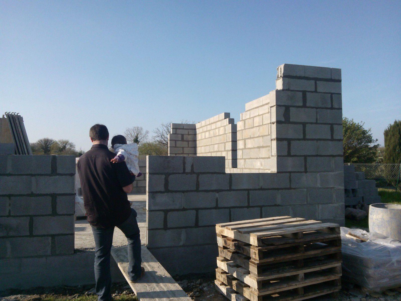 Elévation des murs J2