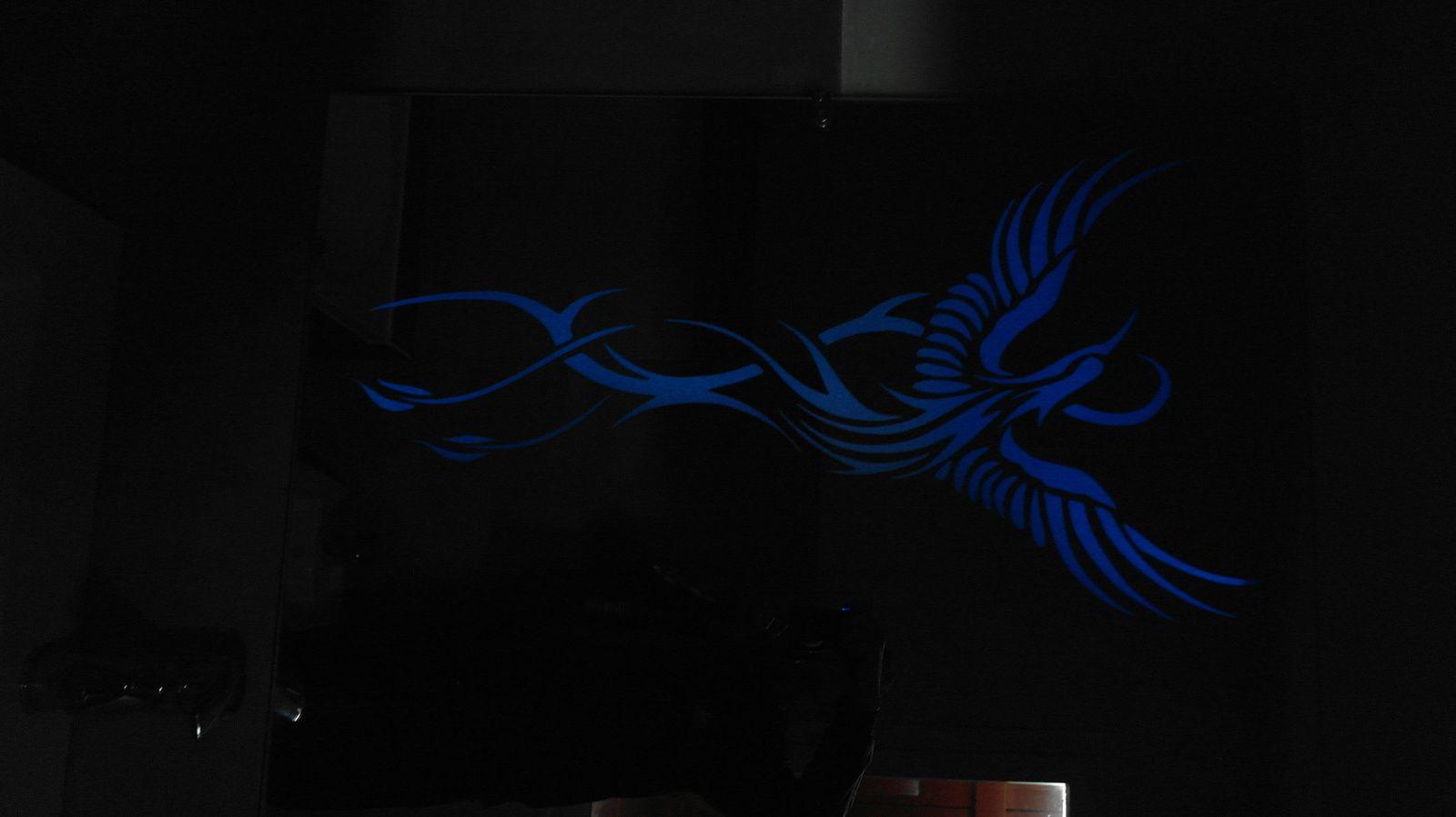 D Cor Phosphorescent Sur Miroir Grav Le Blog De Passion