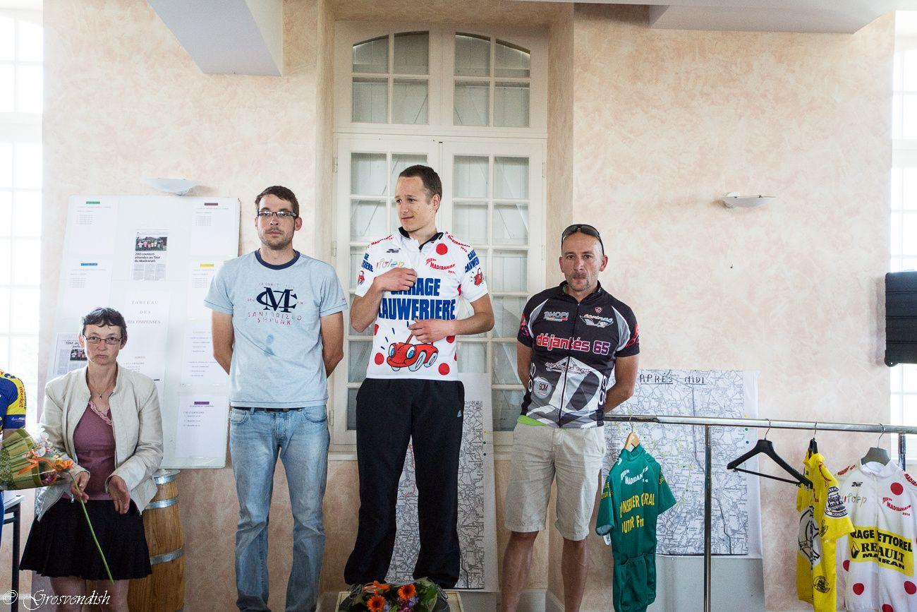 podium et résultats