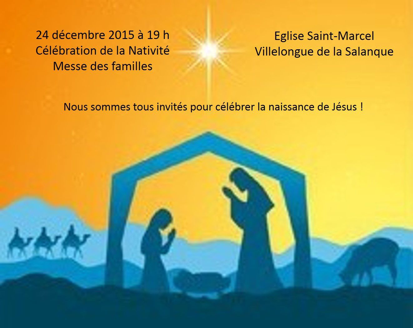 Messes de Noël à Canet, Sainte-Marie et Villelongue