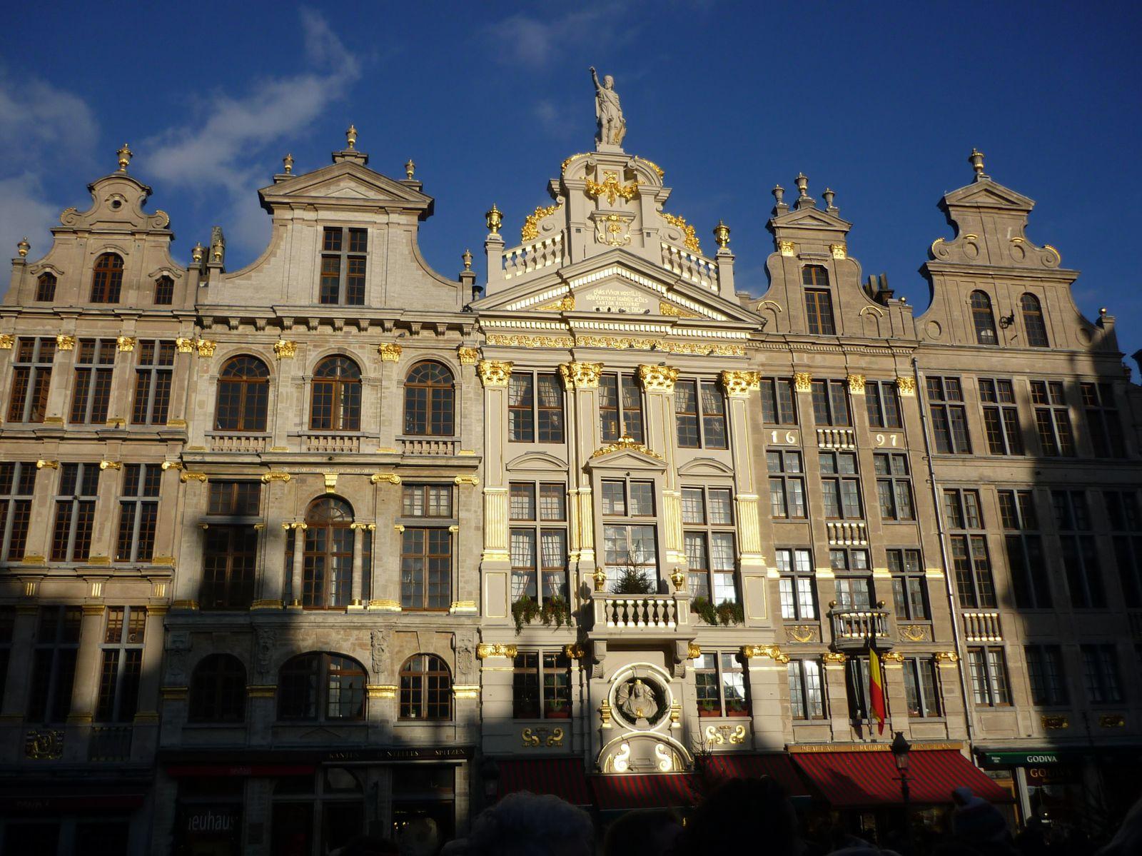 Bruxelles en décembre 2013