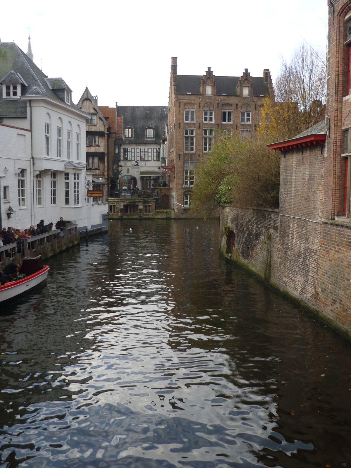 Un jour de décembre à Bruges.