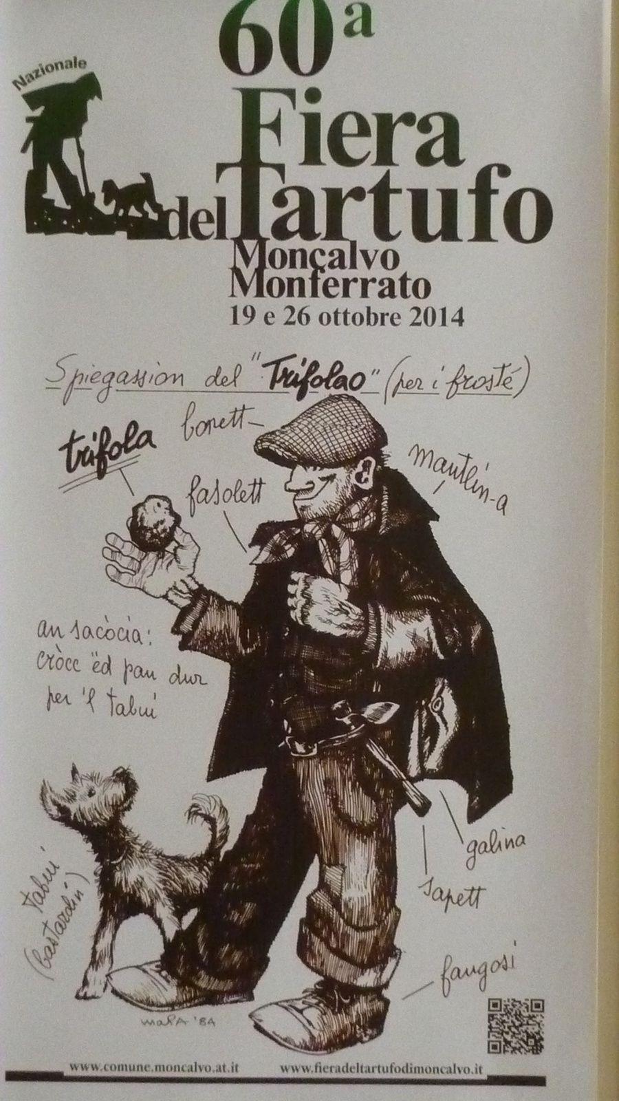 Moncalvo capitale pour un dimanche de la truffe
