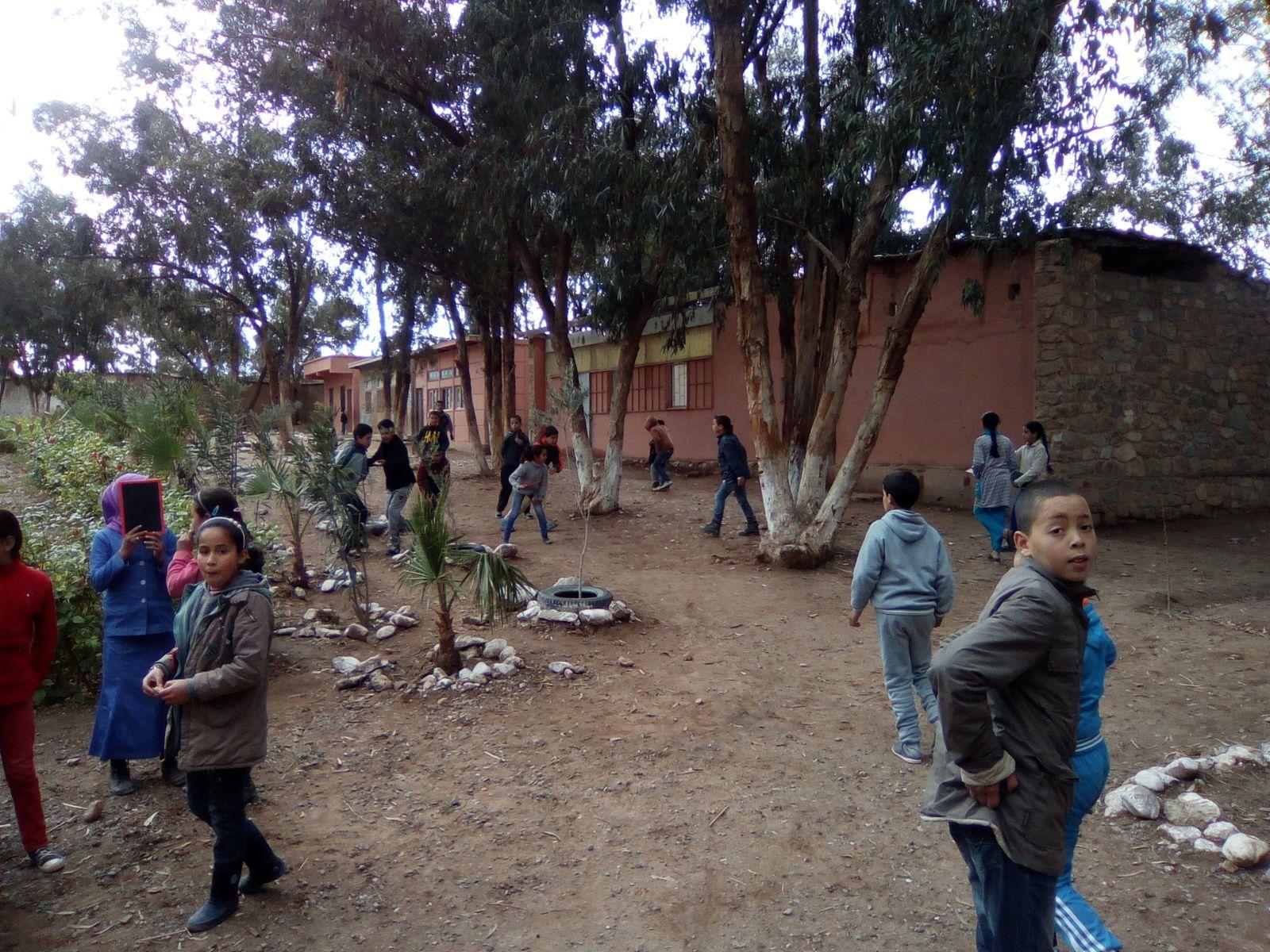 quelques images de l'école d'OUMNASS