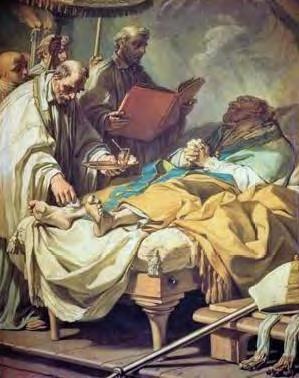 Pour Luther, l'Extrême Onction n'est pas un Sacrement