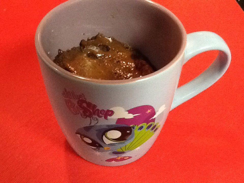 Mug Cake Tout Choco de ma fille