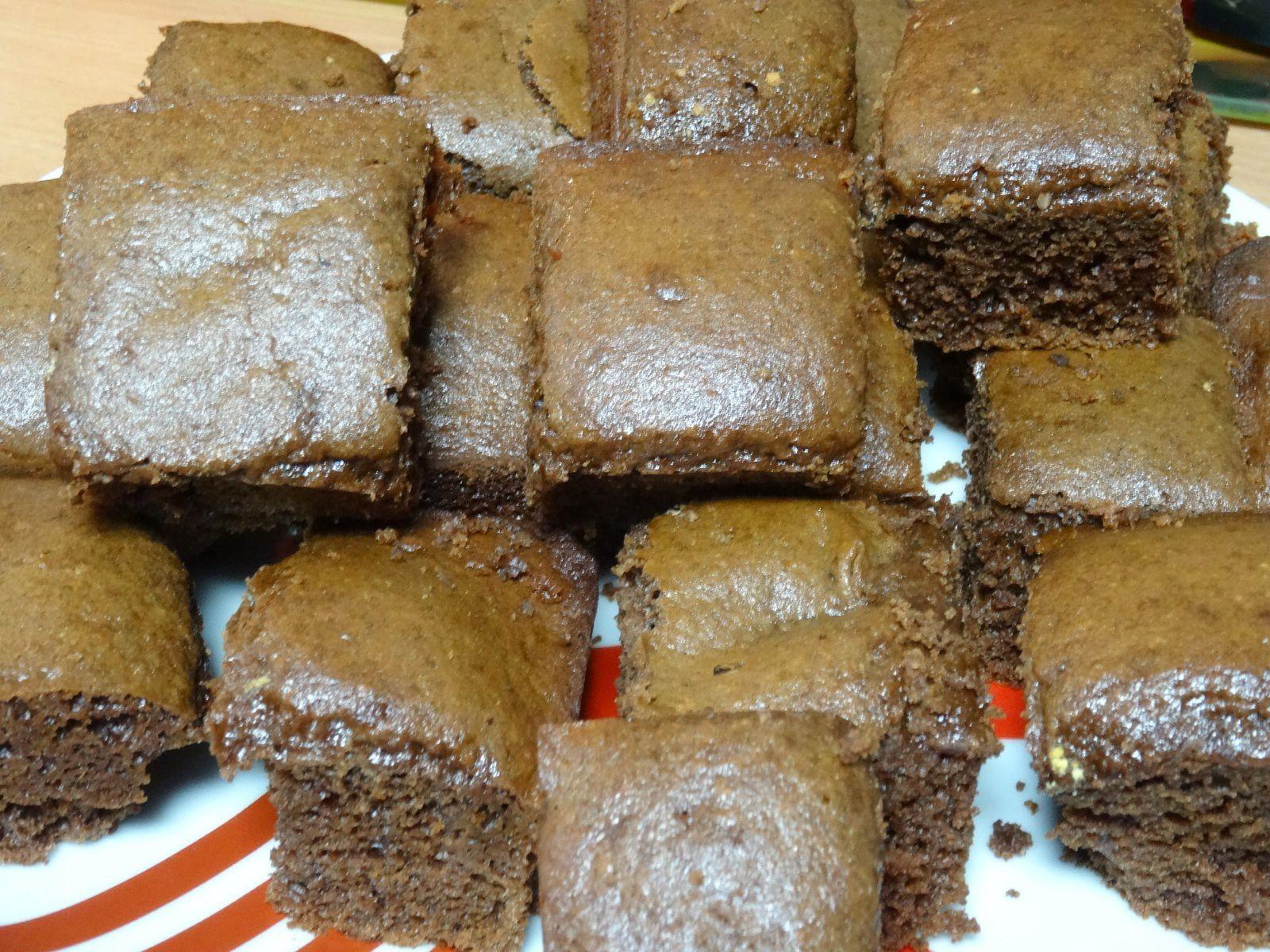 Brownies Choco-Noisette