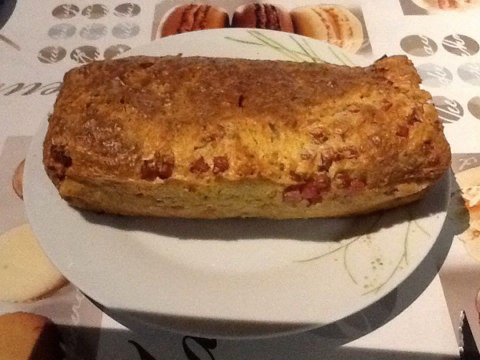 Cake jambon origan