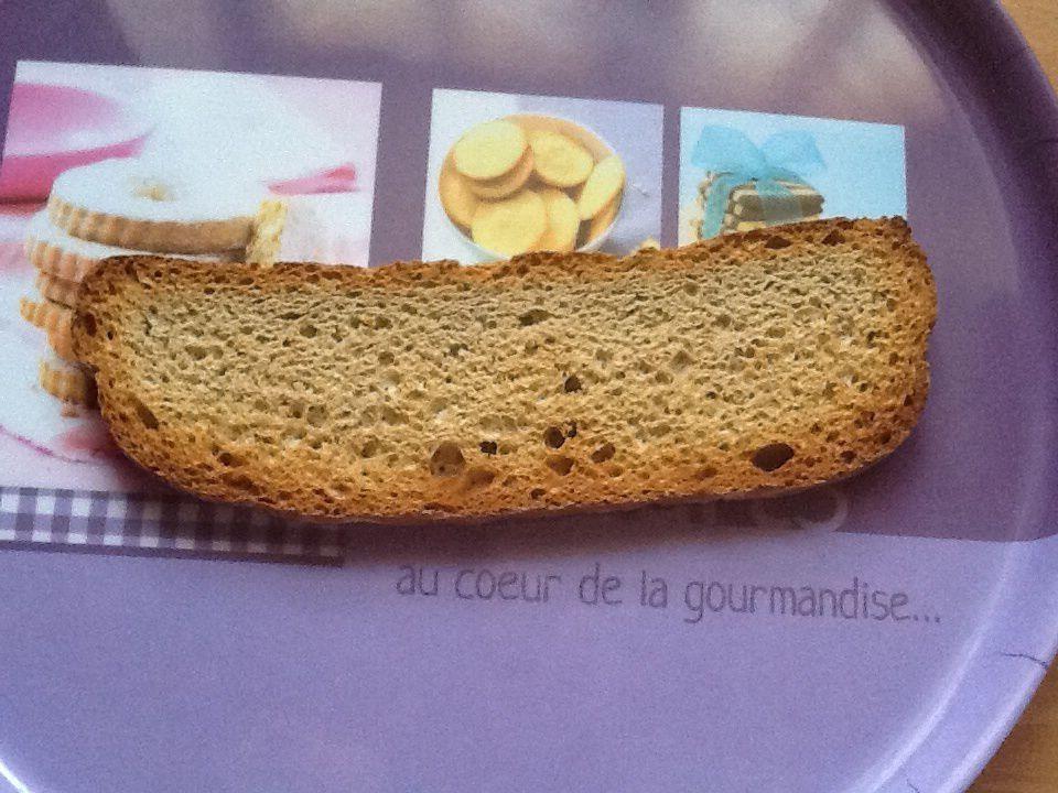 Biscotte au blé complet