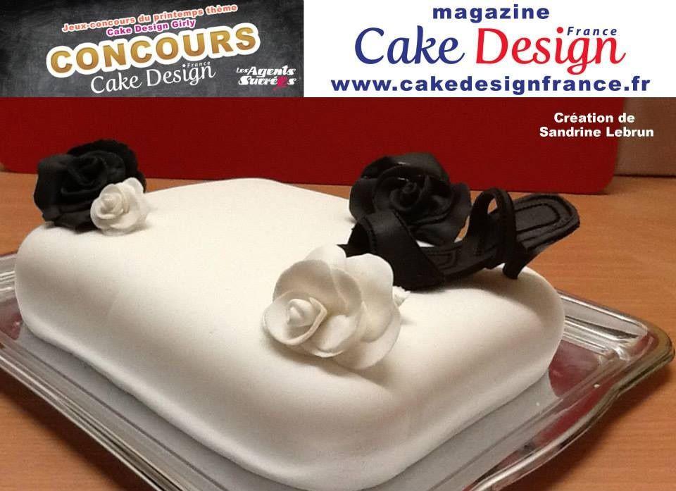 """Je participe au Concours du Magazine Cake Design France avec mon gâteau Black & White et j'ai besoin de votre aide à toutes et tous pour m'aider à gagner . C'est simple ,il suffit de cliquer sur ce lien là --->https://www.facebook.com/photo.php?fbid=391352877672768&set=a.386757234798999.1073741865.157717237703001&type=3&theater et ensuite de cliquer """" j'aime """" ."""