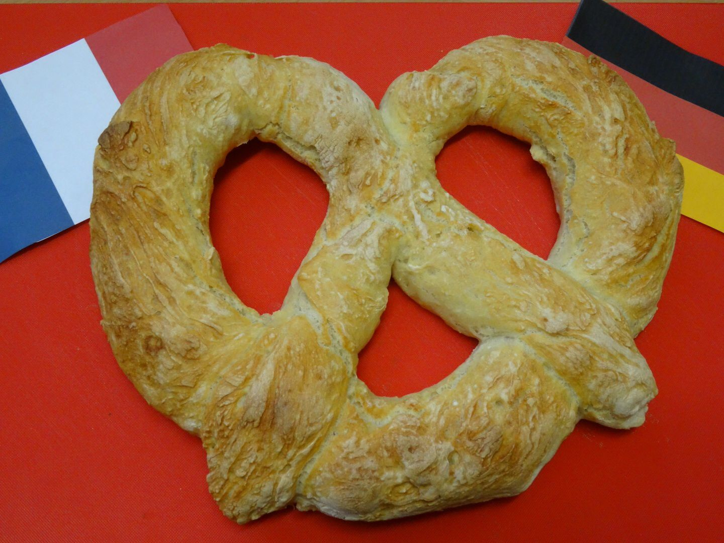 Pain Bretzel .....Match France - Allemagne