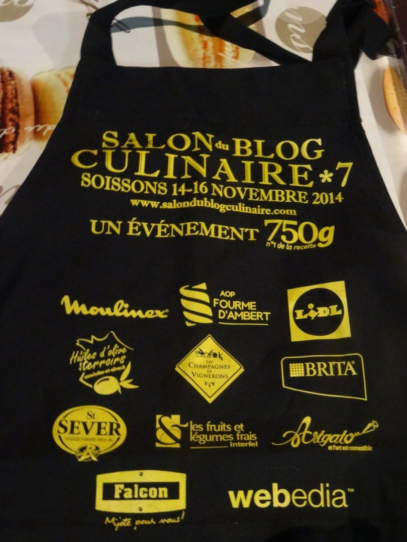 UN WEEK-END AU Salon du Blog Culinaire 7 SOISSONS (1ère Partie)