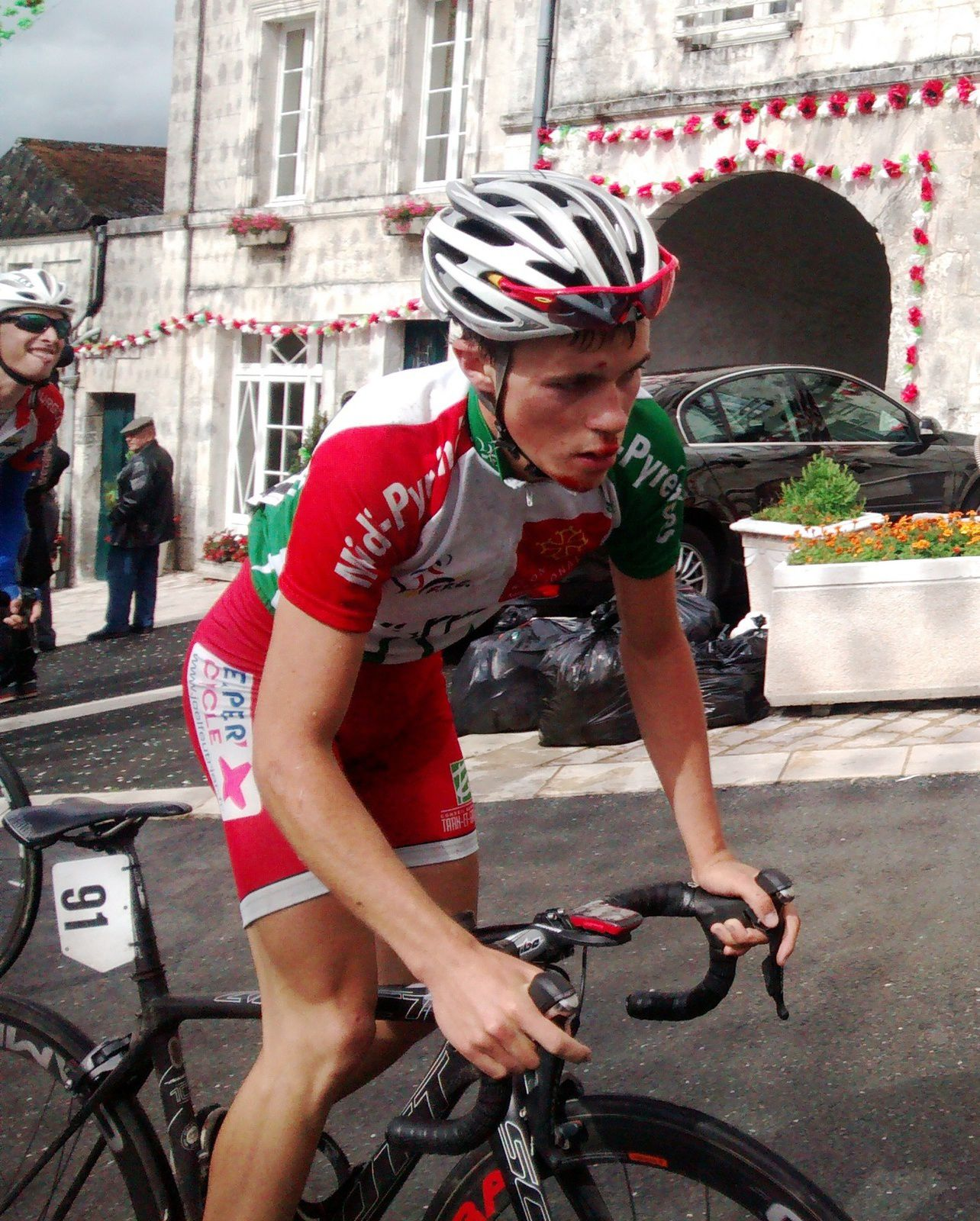 A 21 ans maillot jaune dans une épreuve d'envergure nationale, Loic Bouchereau est promis à un bel avenir.