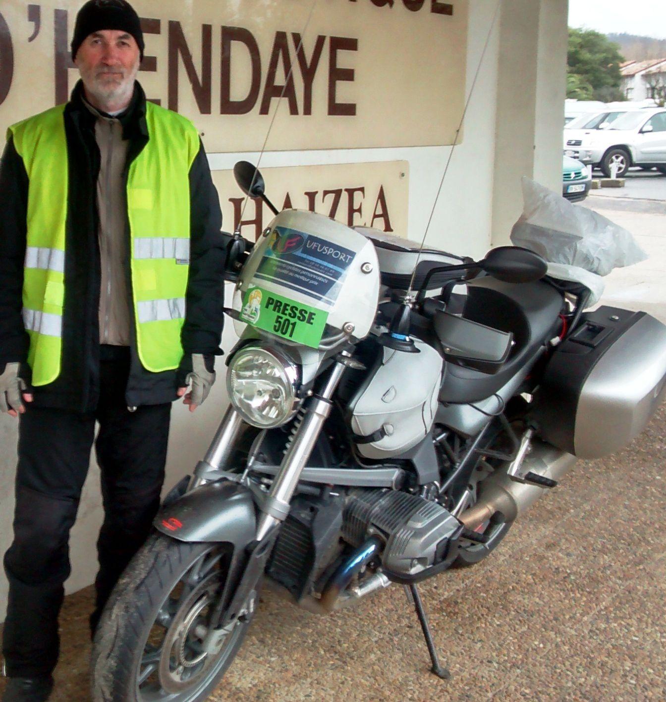 cette année encore nous sommes sur l'essor basque pour renforcer la sympathique équipe moto de AXOA