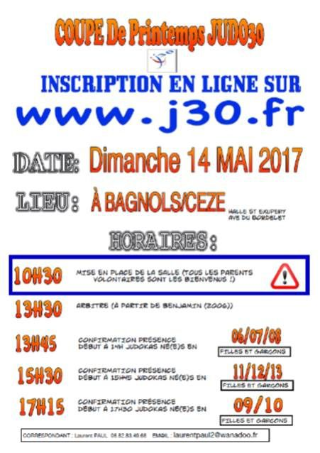 Interclub BagnolsJUDO 2017