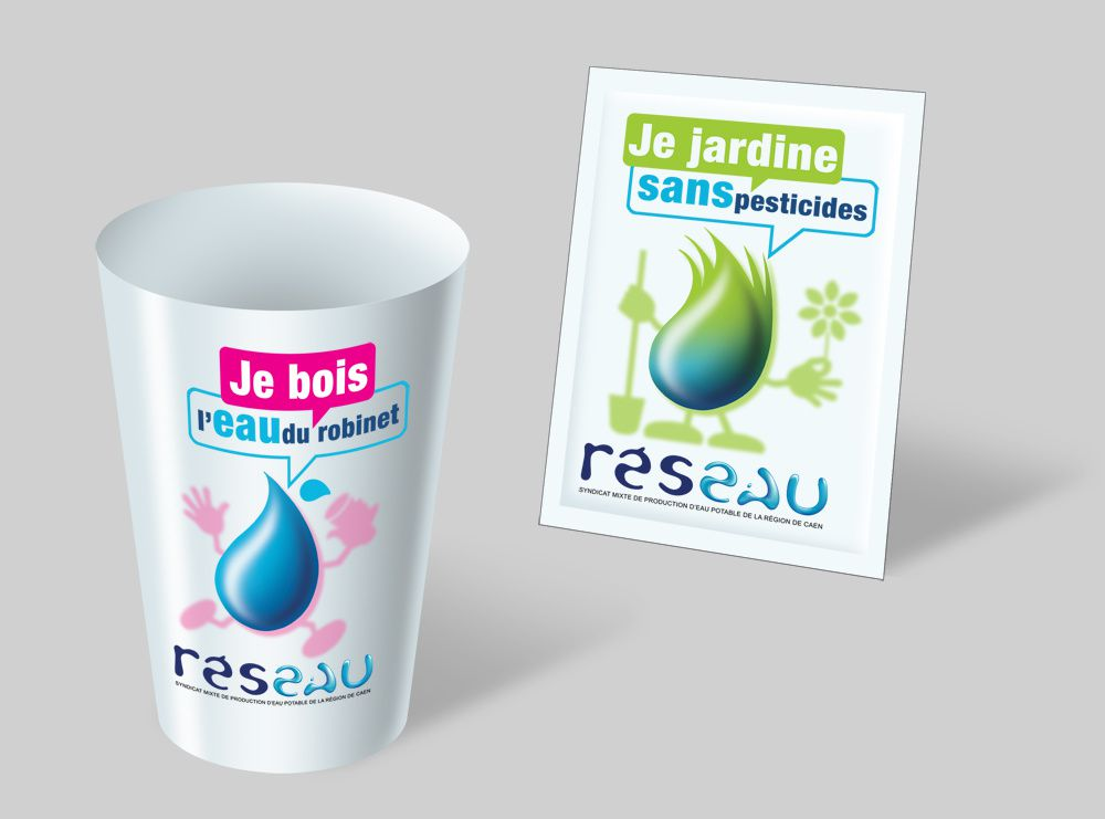 Des goodies pour sensibiliser le grand public à la gestion de la ressource en eau portable - Jacques Sourd