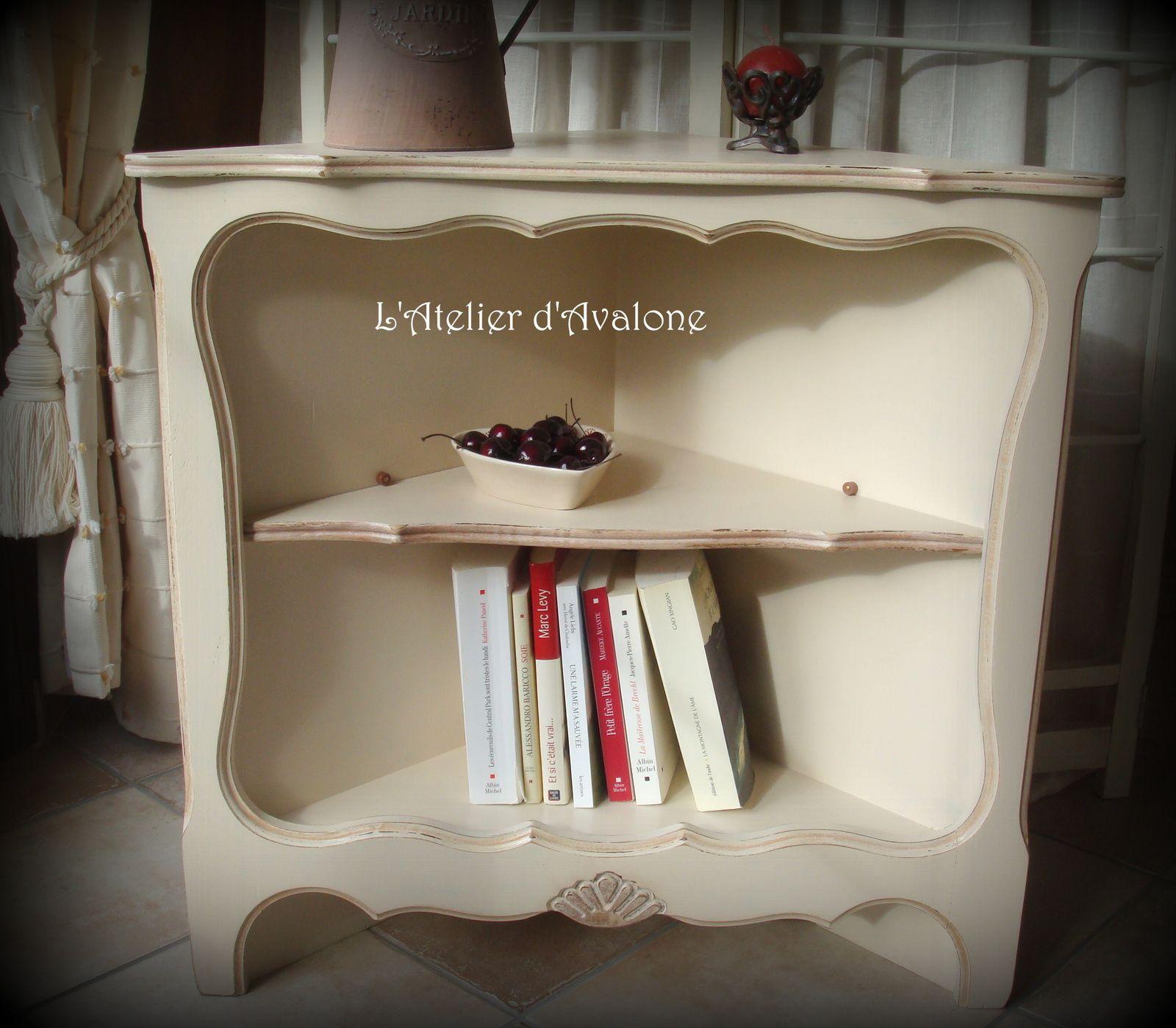 relooking d 39 un meuble d 39 angle dans un style cottage anglais l 39 atelier d 39 avalone. Black Bedroom Furniture Sets. Home Design Ideas