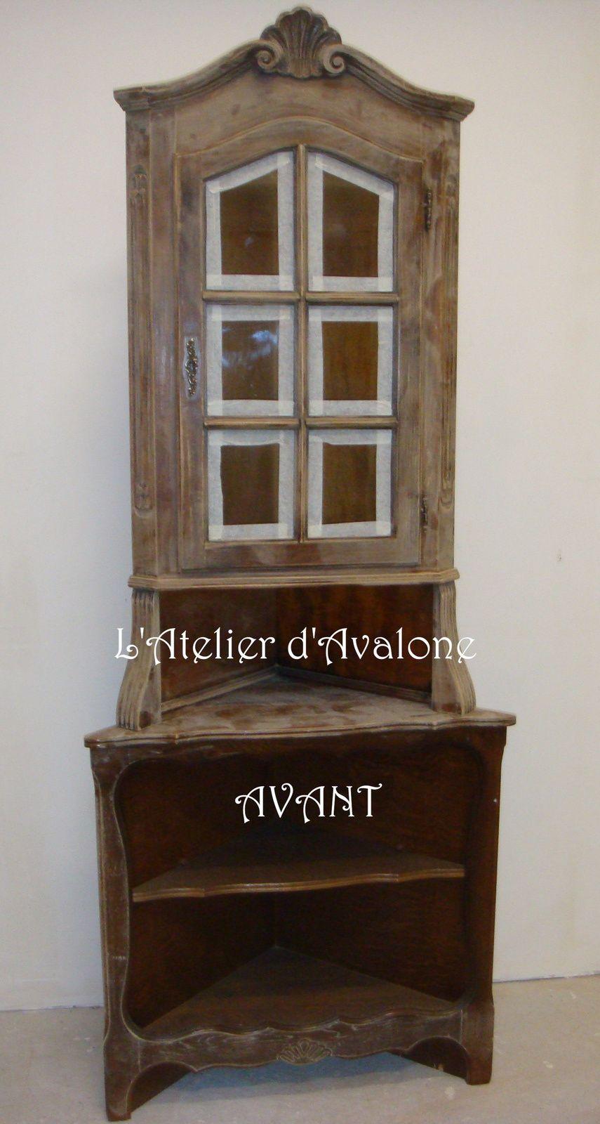 Relooking avant apr s l 39 atelier d 39 avalone relooking de meubles et d - Meubles campagne brocante ...