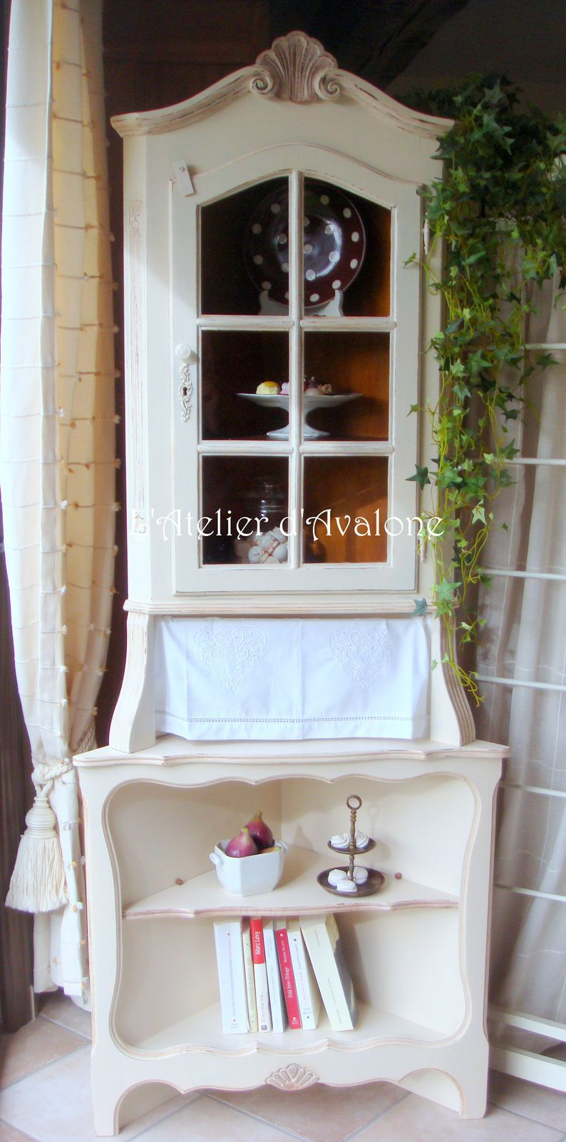 Style cottage anglais stunning with style cottage anglais for Rideaux cottage anglais