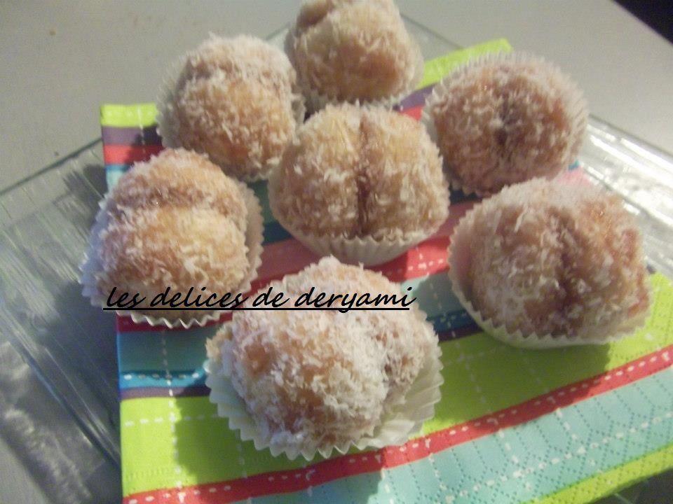 Boules a la noix coco
