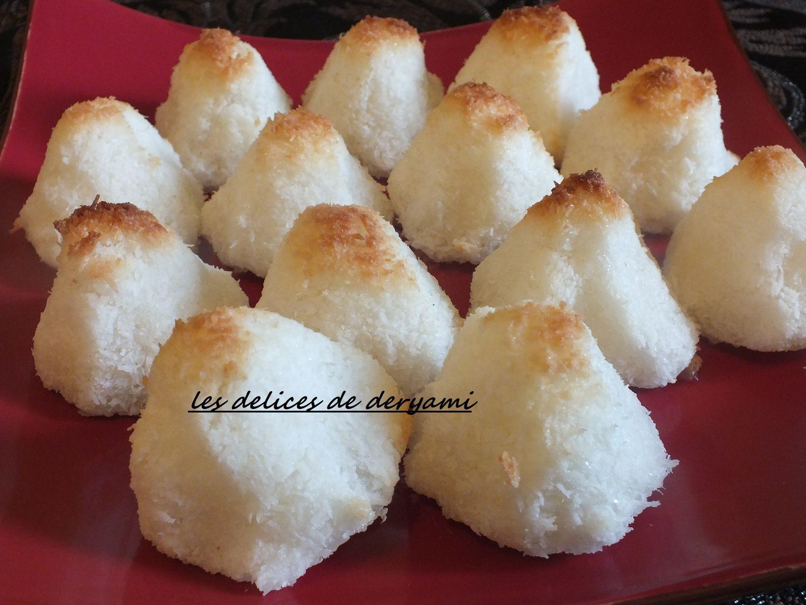 Rochers à la noix de coco (facile )
