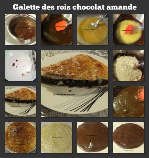 Galette des rois chocolat et amandes