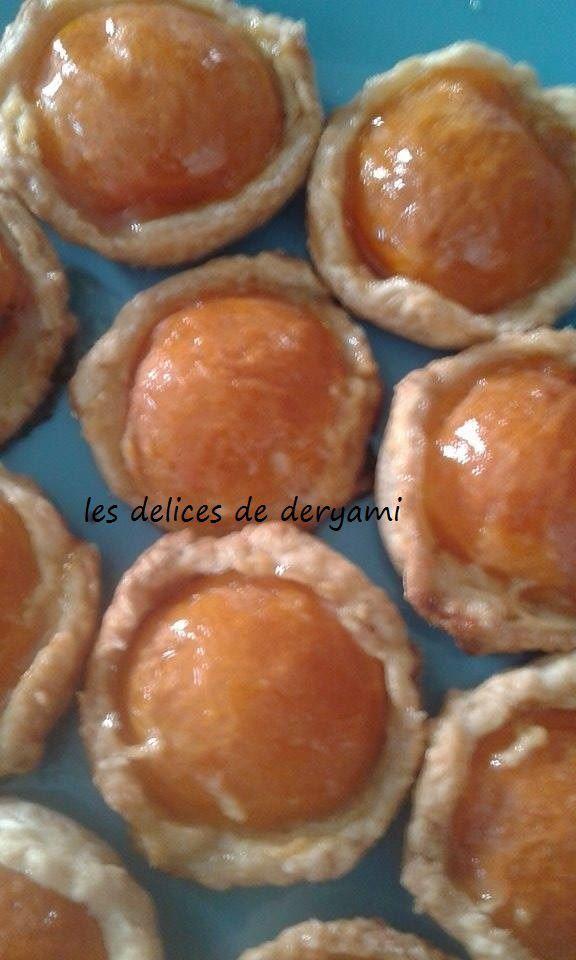 Mini feuillettés à l' abricots (facile et économique )