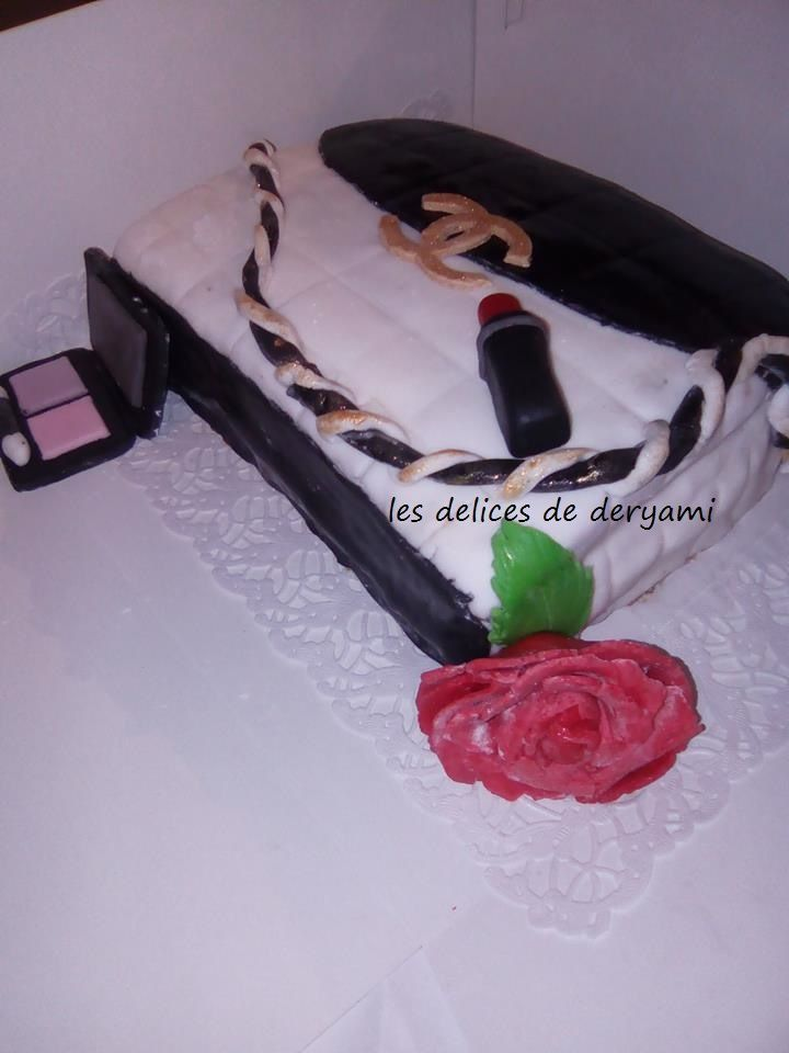 Gateau Sac a main Channel