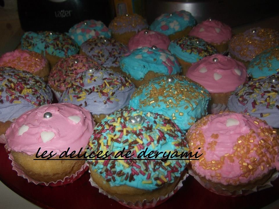 Glacage royale pour cup cake