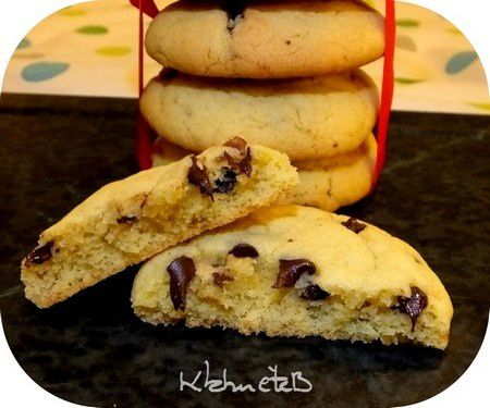 Cookies moelleux recette Tupp