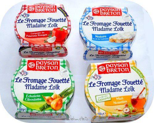 J'ai testé: Les fromages fouettés de Madame Loïk