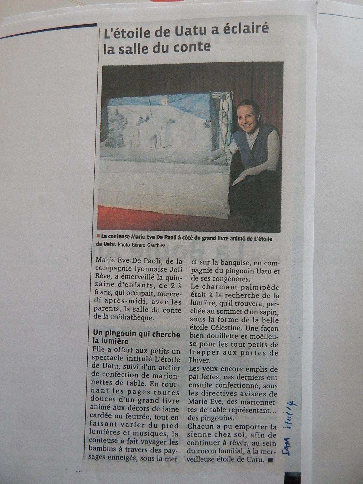 Le dauphiné Yssingeaux 01-11-14