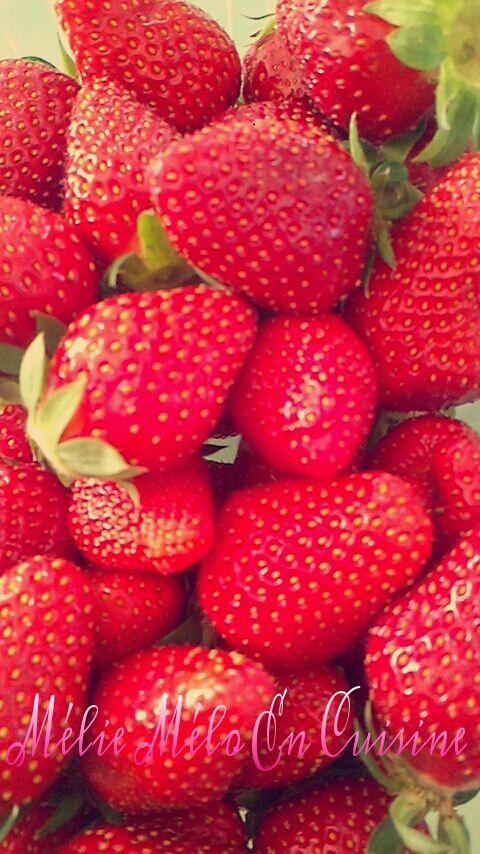 Entremet fraise chocolat blanc ( avec ou sans thermomix )