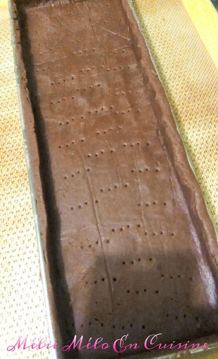tarte tout chocolat ( avec ou sans thermomix )