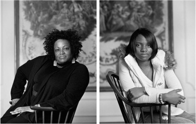 Dawoud Bey, Maxine Adams and Amelia Maxwell (from The Birmingham Project), 2012. Two pigmented inkjet prints mounted on dibond, 40 × 64 in. (101.6 × 162.6 cm) overall. Collection of the artist. © Dawoud Bey