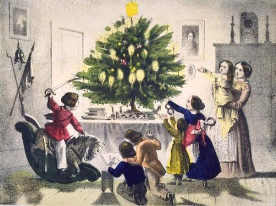 Petite histoire du sapin de Noël