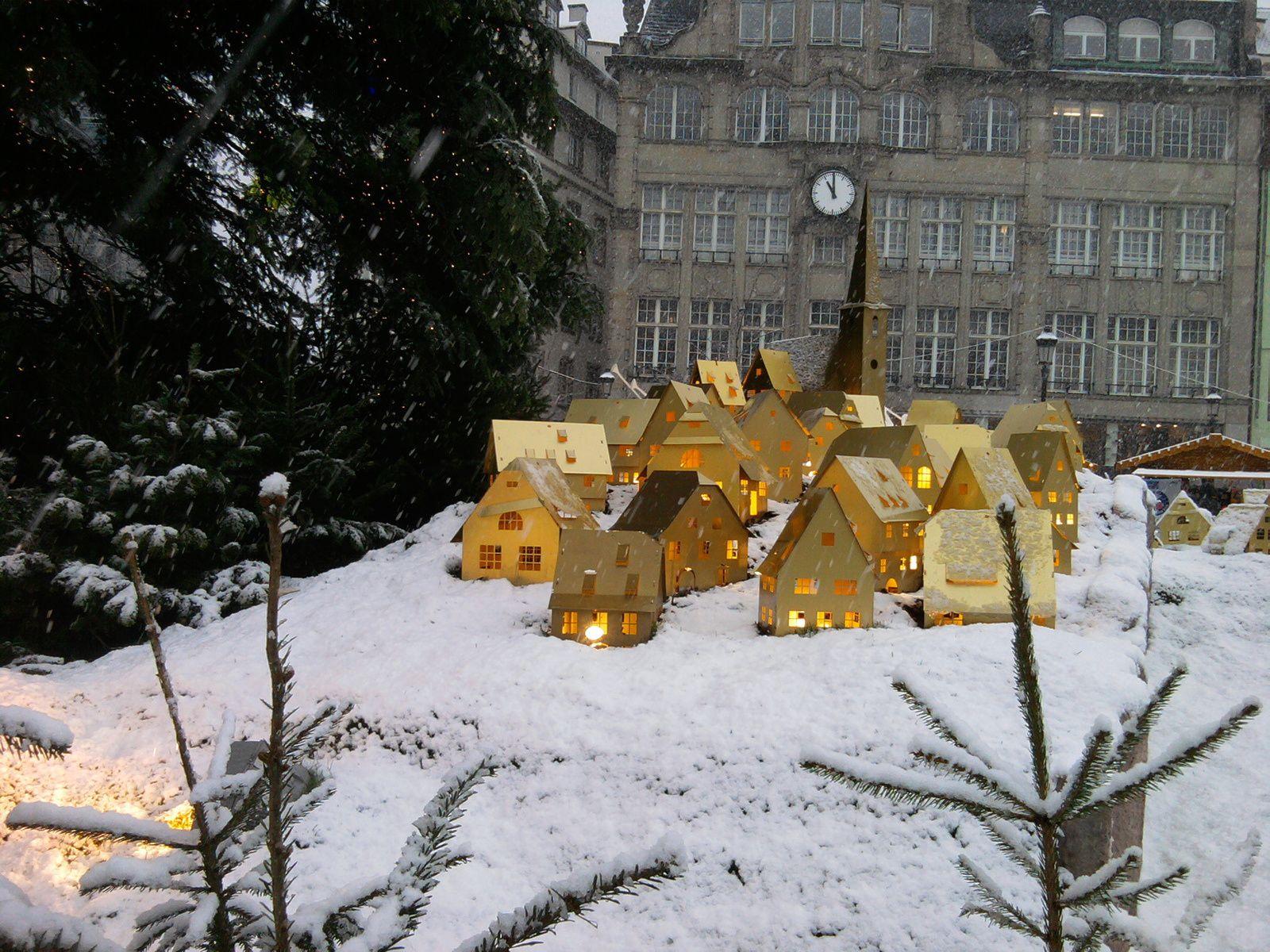 Strasbourg : Hiver 2010. Il y avait de la neige !!!