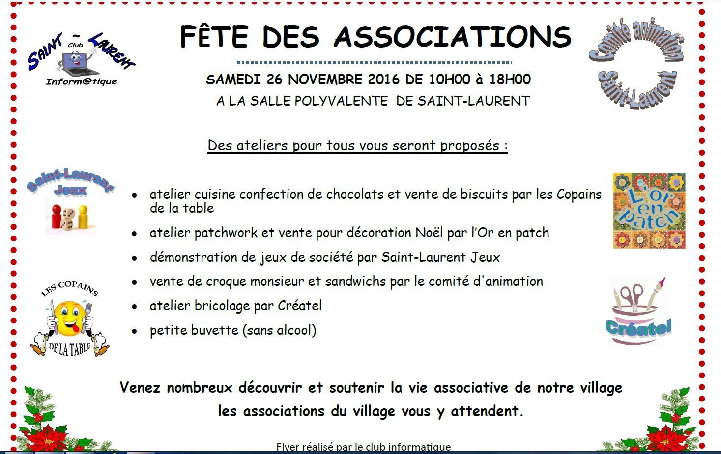 Saint-Laurent - Fête des associations