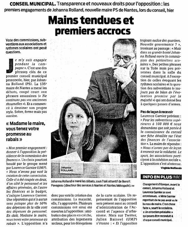Presse Océan - 15-04-2014