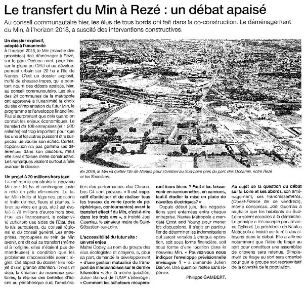 Ouest France - 28-06-2014
