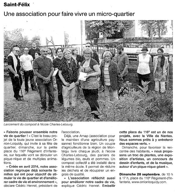 Ouest France - 25-09-2014