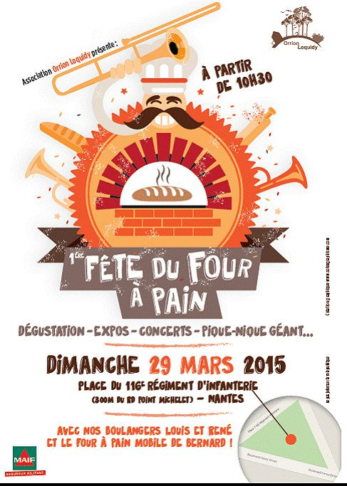 Association Orrion Loquidy - 1ère fête du four à pain le 29 mars