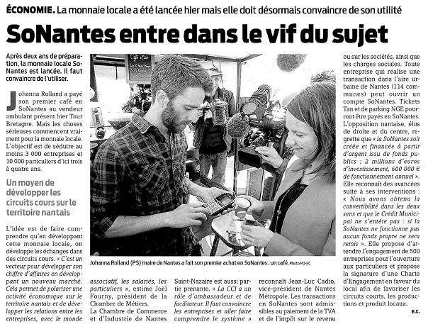 Presse Océan - 29-04-2015