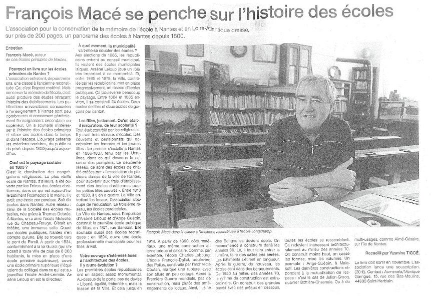 Ouest France - 10/06/2015