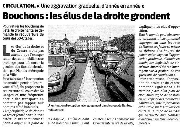 Presse Océan et Ouest France - 10/07/2015