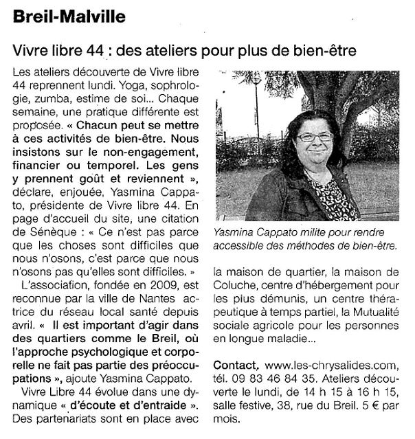 Ouest France - 19-09-2015