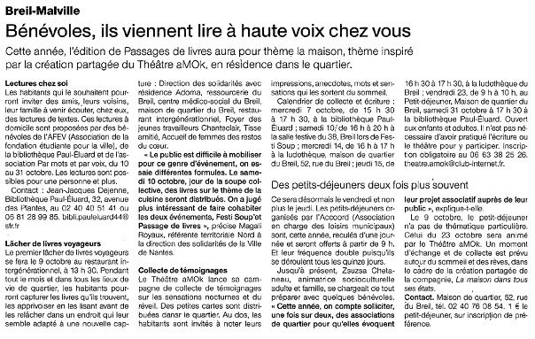 Ouest-France - 02/10/2015