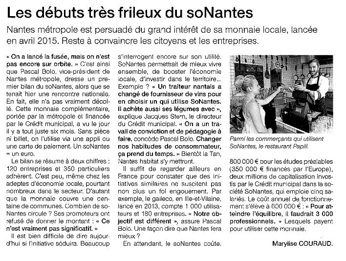 Ouest France - 16-10-2015