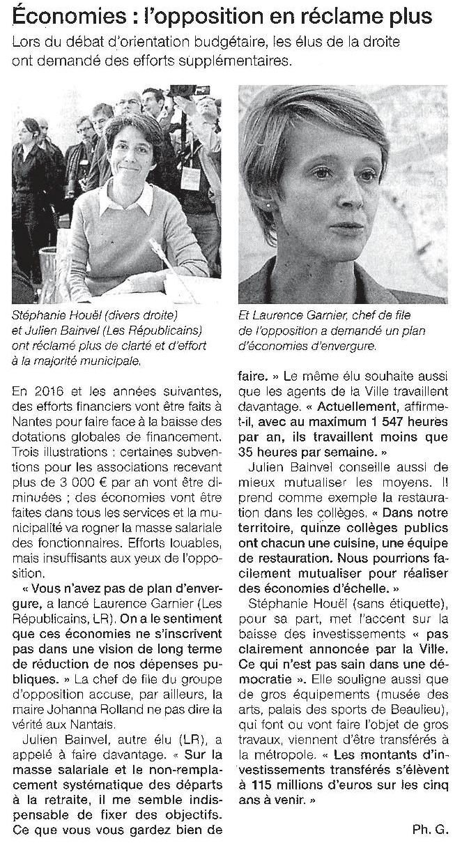 Ouest France - 03-11-2015