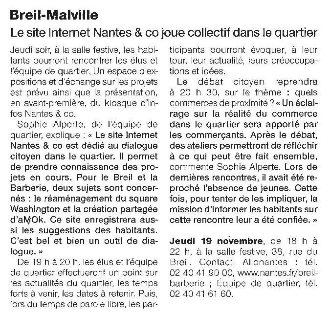 Ouest France - 18-11-2015